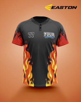 EASTON Baseball/Softball 2 button Jersey Ignite