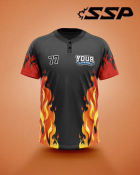 SP Baseball/Softball 2 button Jersey Ignite