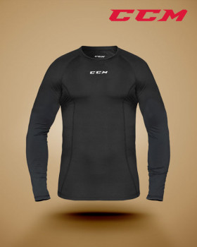 Performance long sleeve compression top